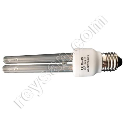 BOMBILLA UVC 15 W INASTILLABLE