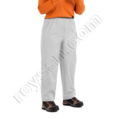 PANTALON IMPERMEABLE PU BLANCO
