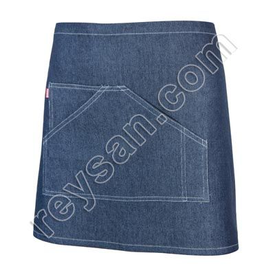 DELANTAL DENIM CORTO